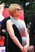Evelina Khromchenko at Moscow Film Festival — Stock Photo