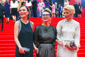 Celebrities at Moscow Film Festival — Stock Photo