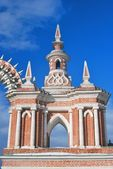 Architecture of Tsaritsyno park in Moscow — Stock Photo
