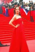 Daria Moroz at Moscow Film Festival — Stock Photo