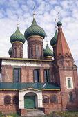 Iglesia de San nicolas en yaroslavl, Rusia. — Foto de Stock