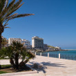 Old seaside town of Vieste in Puglia, Italy — Stock Photo #76516039
