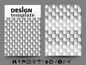 Brochure design templates — Vector de stock