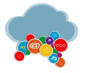 Vector social media — Stock Vector