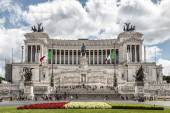 National Monument to Vittorio Emanuele II — Stock Photo