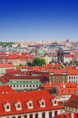 View on Mala Strana and Stare Mesto, Prague — Stock Photo