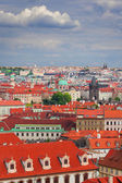 View on Mala Strana and Stare Mesto, Prague — Foto de Stock