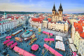 Easter Marketplace in  Prague — Stock Photo