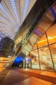 Sony Center on Potsdamer Platz at night — Stock Photo