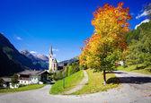 Nice  old Church in Cortina, Italy — Stock Photo