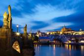 The Charles Bridge in Prague — Stock Photo