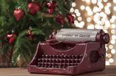 Santa claus brief — Stockfoto