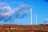 Wind Turbines — Stockfoto