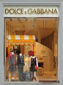 Dolce & Gabbana boutique — Foto Stock