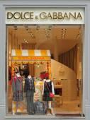 Dolce & Gabbana boutique — Stock Photo