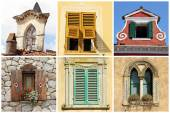 Old windows in Italy — Stock Photo