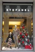 Stefanel boutique — Stock Photo