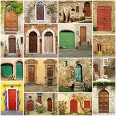 Italian doorways — Foto de Stock