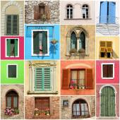 Old fashion windows — Stock Photo