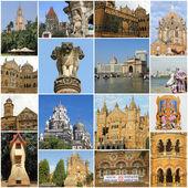Famous landmarks of Mumbai — Stock Photo
