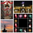 Florence New years collage — Stockfoto #58857179