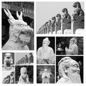 Chinese sculptures — Stock Photo