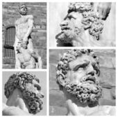 Hercules and Cacus by Baccio Bandinelli — Stock Photo