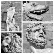 Details of statue of Hercules and Cacus — Stock Photo #59203193
