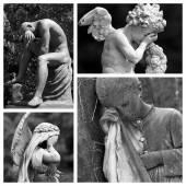 European monumental cemeteries — Stock Photo