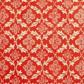Red and white damask sample — Stock Photo