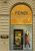Famous luxury shopping Fendi boutique — Stock Photo