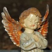 Figurine of little angel — Stock Photo