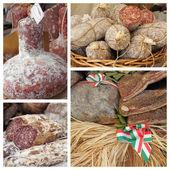 Sklep mięsny włoski — Zdjęcie stockowe