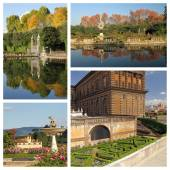 Wonderful Boboli Gardens — Stock Photo