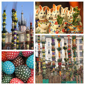 Easter traditions in Krakow — Stock Photo