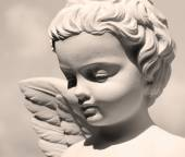 Detail of Angelic face — Stock Photo