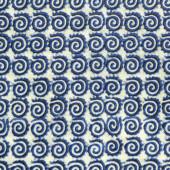 Vzor modrá spirála — Stock fotografie