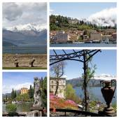 Lake Como in north part of Italy — Foto Stock