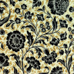 Vintage floral ornamental paper — Stock Photo #70258525