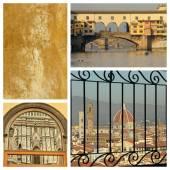 Florentine famous places — Stock Photo
