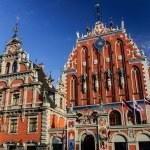 House of the Blackheads, Riga, Latvia — Stock Photo #71435141