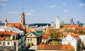 Vilnius old town, Lithuania — Stock Photo