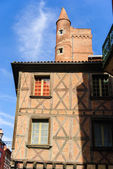Medieval old town of Toulouse, France — Stock Photo