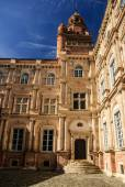 Palace courtyard, Toulouse old town, France — Stock Photo