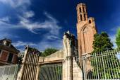 Ruins of the Church of the Cordeliers, Toulouse, France — Stock Photo