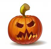 Pumpkins Scary 3 — Stock Vector