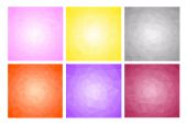 Colored frames set — Stock Vector