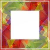 Multicolored border — Stock Photo