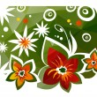 Floral background — Stock Vector #72223763