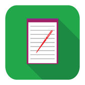 Icon notebook — Vetorial Stock